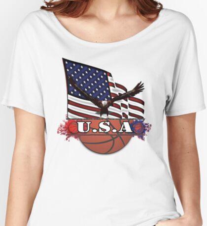 USA Basketball Women's Relaxed Fit T-Shirt