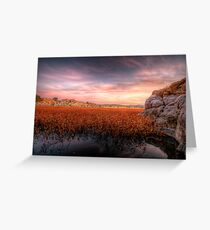 Low Down Greeting Card