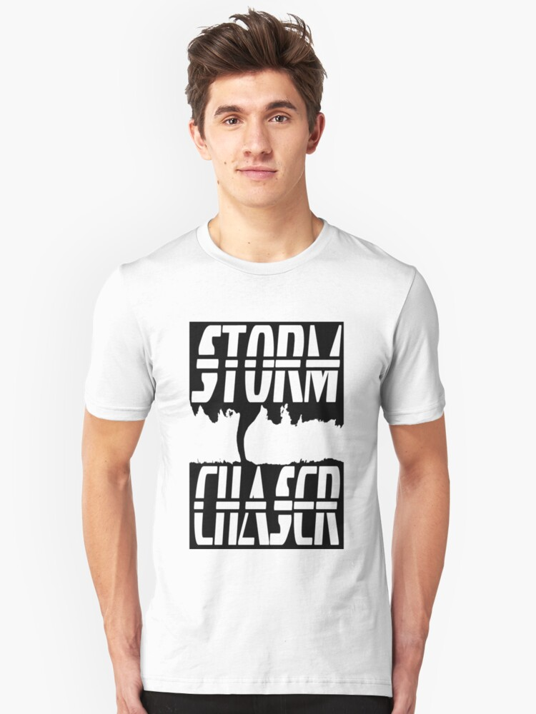 Storm Chaser Inverted Unisex T-Shirt Front