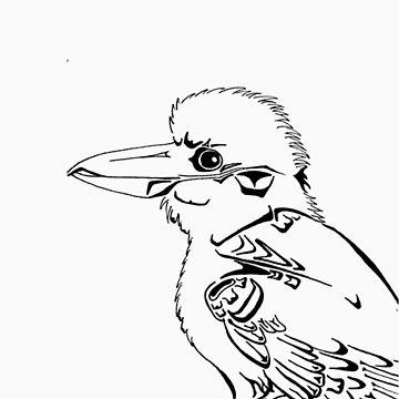 West Coast Kookaburra by MZurba