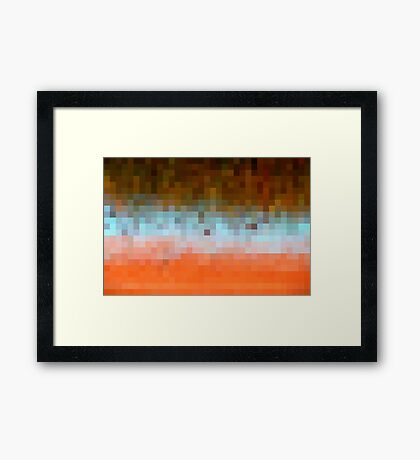 Nature Pixels No 1 Framed Print