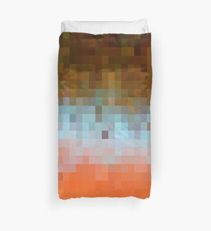 Nature Pixels No 1 Duvet Cover