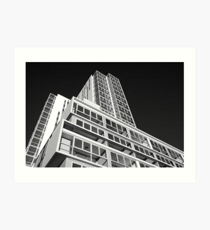 'Altitude' Apartments Art Print