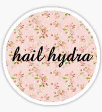 hail hydra floral Sticker