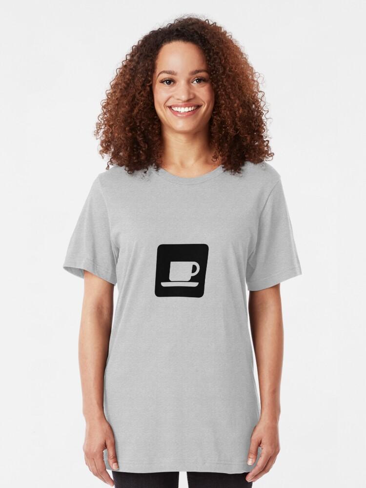 Alternate view of Coffee Slim Fit T-Shirt