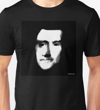 Does this ghost face look to the right or to the left? T-Shirt