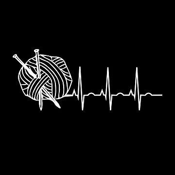 Yarn Heartbeat by itsHoneytree