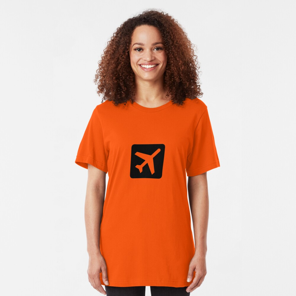 Plane Slim Fit T-Shirt
