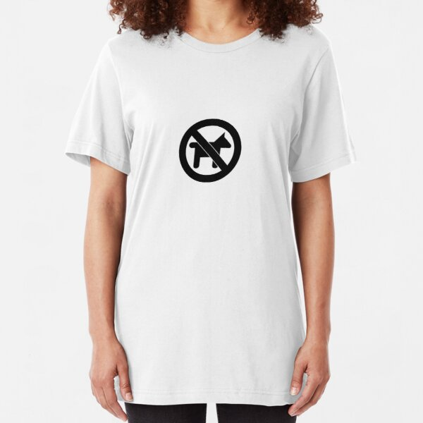 No Dogs Slim Fit T-Shirt