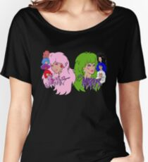 Jem and the Holograms Vs The Misfits Women's Relaxed Fit T-Shirt