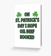 What I want on St. Patrick's Day Greeting Card