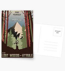 Postales Encuéntrate en el bosque perdido