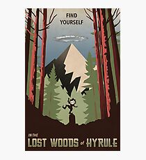 Find Yourself In the Lost Woods Photographic Print