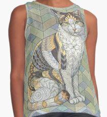 Calico Cat Sleeveless Top