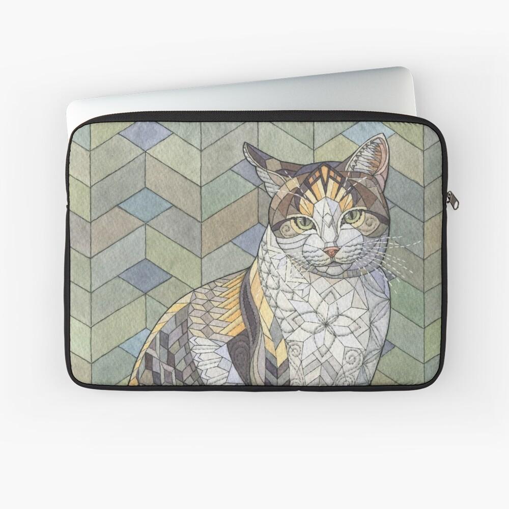 Calico Cat Laptop Sleeve