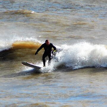old surfer dude by brucemlong