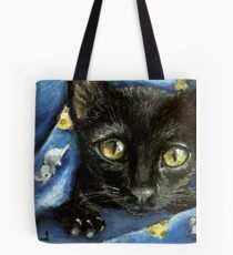 Of mice and cheese and woken kitty... Tote Bag