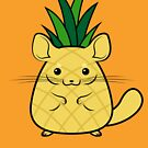 Pineapple Chinchilla by McBethAllen