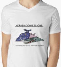 Herper confessions Men's V-Neck T-Shirt
