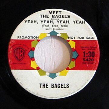 The Bagels,  Meet The Bagels, parody, British Invasion, 1964 by Vintaged
