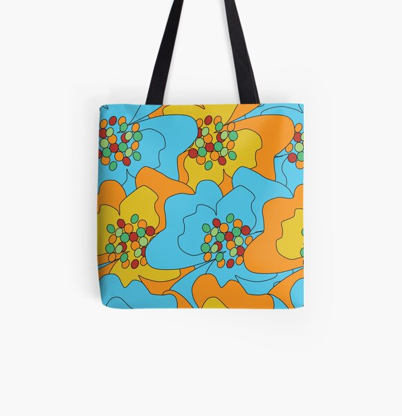 Summer Flowers Delight 1 All Over Print Tote Bag