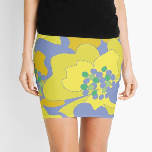Lovers Passion Flowers 1 Mini Skirt