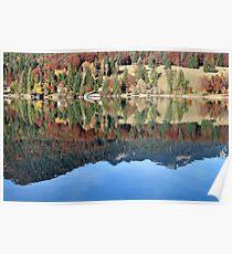 Lake Walchensee Upper Bavaria Poster