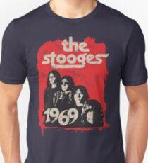 The Stooges Vintage 70er Jahre Distressed 1970er Jahre verblasste 1969 Unisex T-Shirt