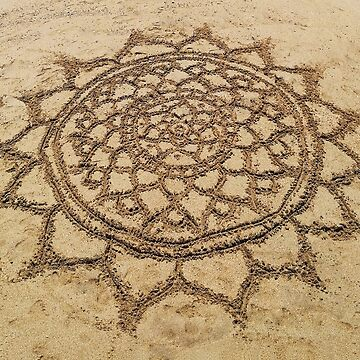 Sand Mandala by julieerindesign