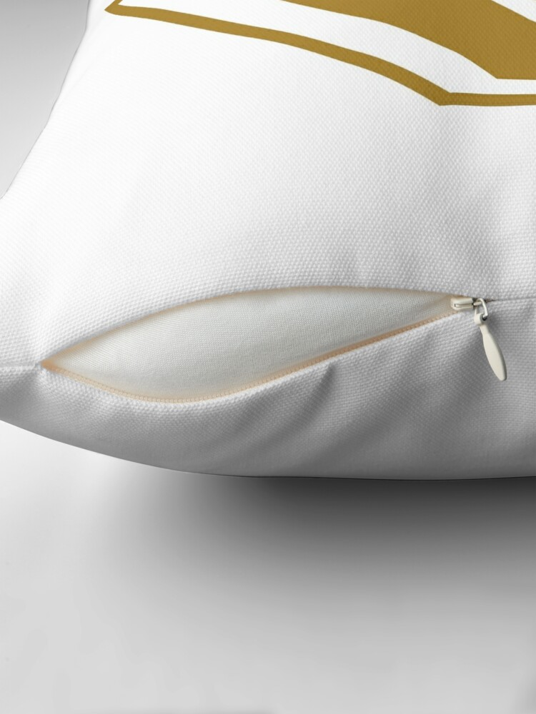 Alternate view of Truth SuperEmpowered (Gold) Throw Pillow