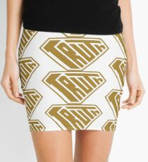 Truth SuperEmpowered (Gold) Mini Skirt