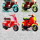 Groovy Scooters by Jay Kenton Manning