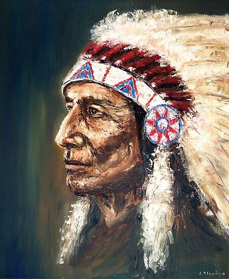 Chief by Arturas Slapsys