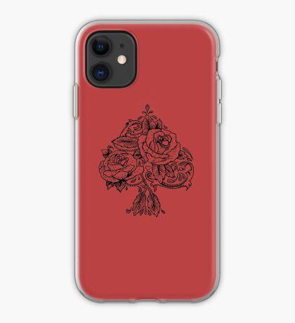 Flower Spade iPhone Case