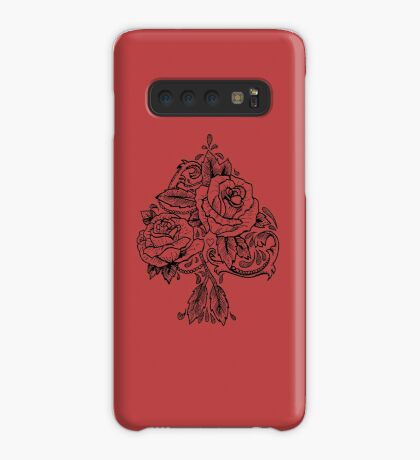 Flower Spade Case/Skin for Samsung Galaxy