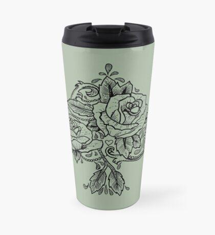 Flower Spade Travel Mug