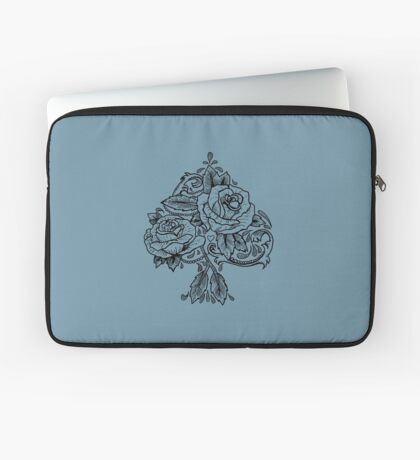 Flower Spade Laptop Sleeve