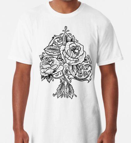 Flower Spade Long T-Shirt