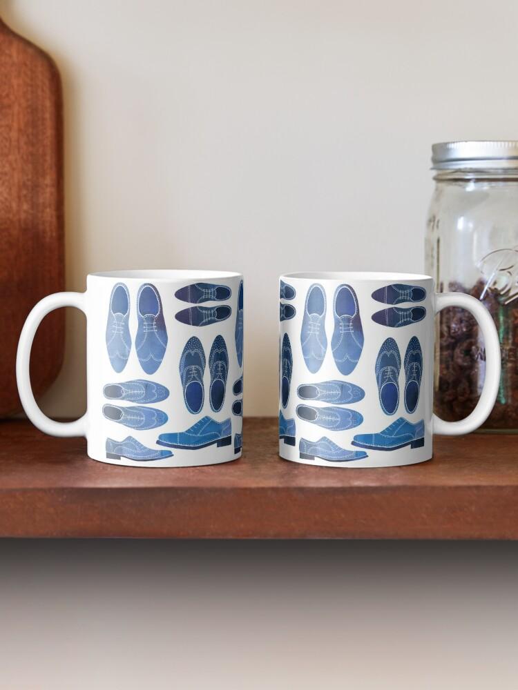 Alternate view of Blue Brogue Shoes Mug
