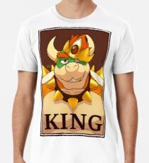 Bowser in Gold Premium T-Shirt