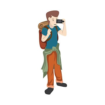 A Perfect Gift For Your Sibling Or Friend An Illustration Of  A Boy Capturing Pictures T-shirt by Customdesign200