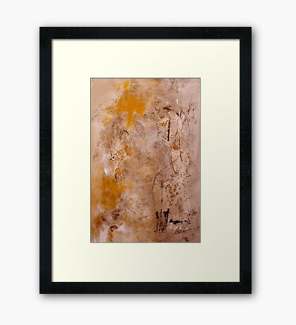 Lightly Touched Framed Print