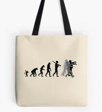 Zombie Evolution Tote Bag