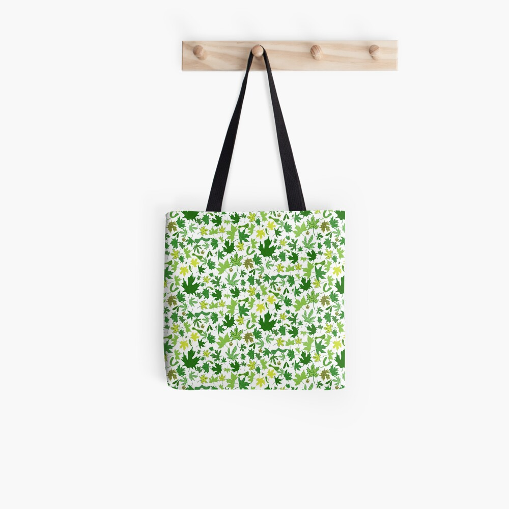 Spring Comes to Mapleville Tote Bag