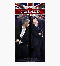 Mystrade - Law&Order Photographic Print