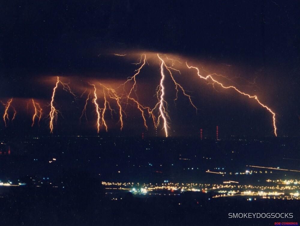 GOD'S LIGHTNING SHOW by SMOKEYDOGSOCKS