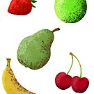 Painted Fruits von Jariko