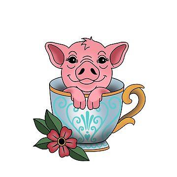 Cerdo taza de NicoleHarvey