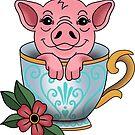 «Cerdo taza» de NicoleHarvey