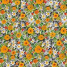 Marigold and Daisy by cmanning